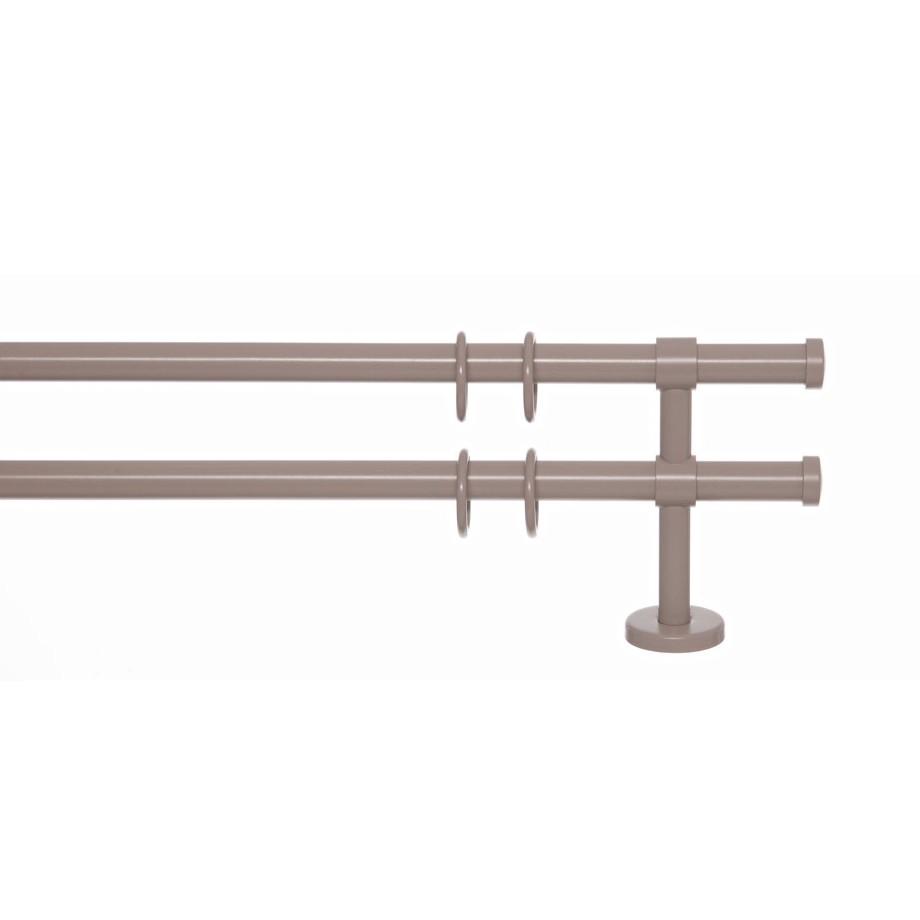Gardinenstange Paolo (2-lfg) I – Kaschmir – 160 cm, indeko günstig online kaufen