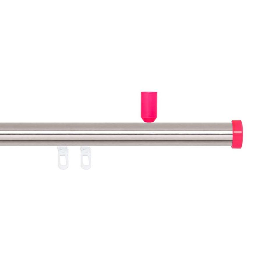 Gardinenstange Paolo (1-lfg) III – Pink – 160 cm, indeko günstig online kaufen