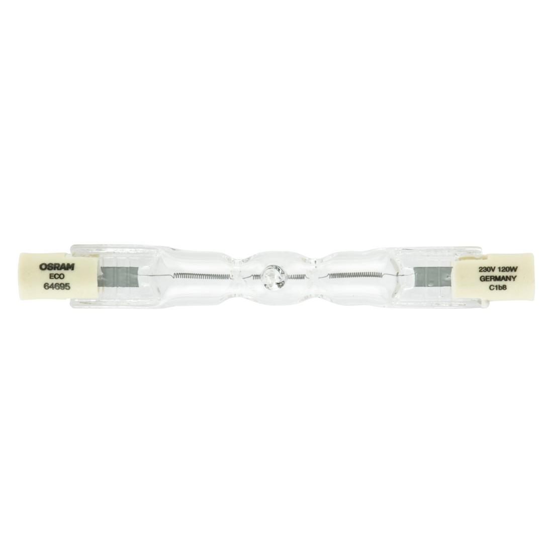 Halogen-Leuchtmittel R7s 120 W Stablampe 75 ● Klarglas Klar- Mega Licht