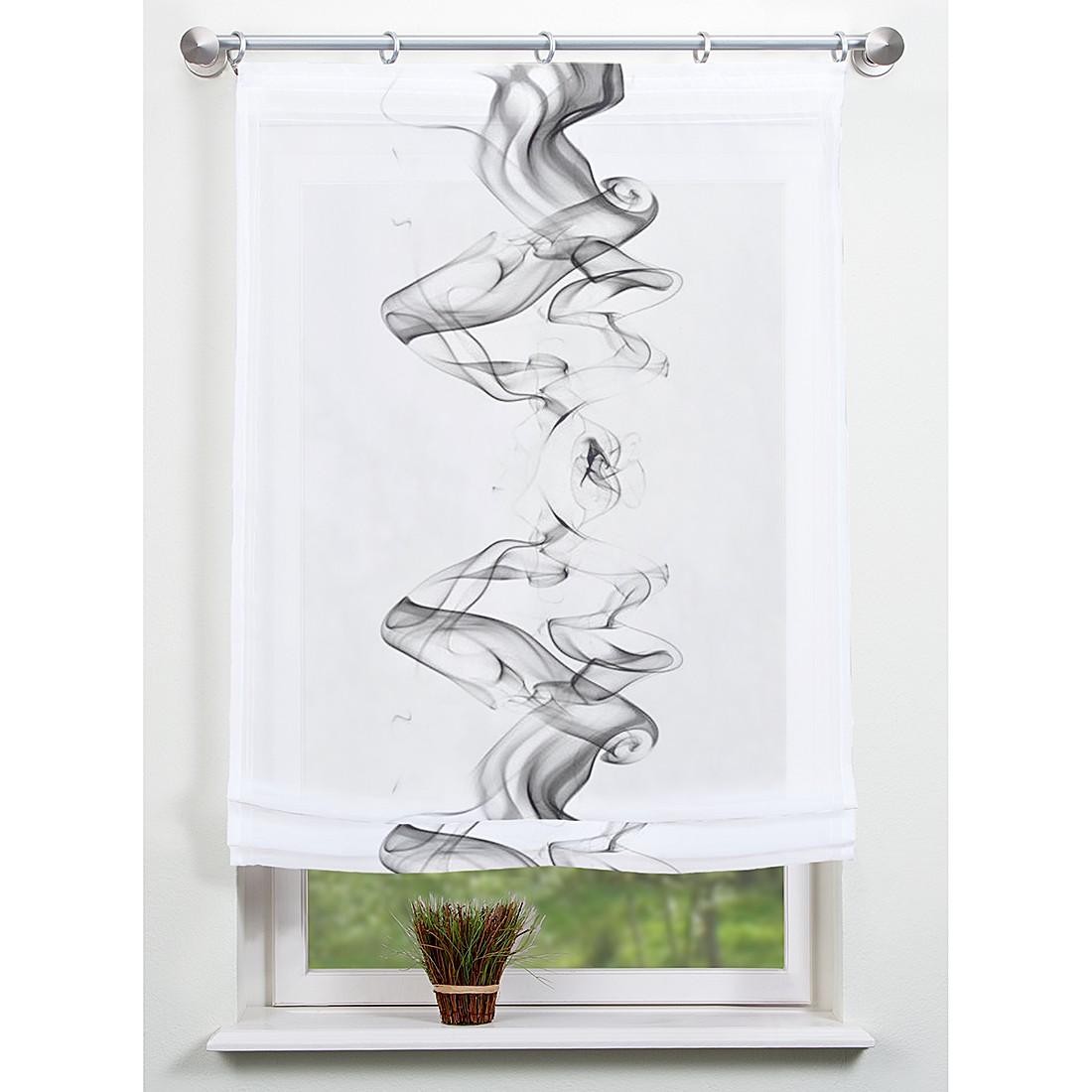 raffrollo chester grau 45 x 140 cm home wohnideen jetzt kaufen. Black Bedroom Furniture Sets. Home Design Ideas