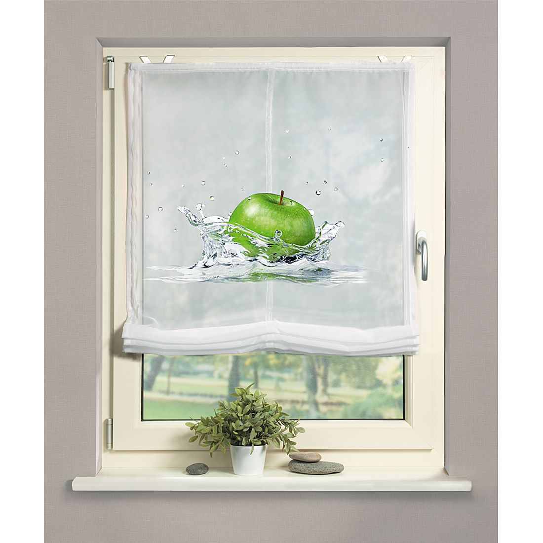 Raffrollo Apple, Home Wohnideen günstig bestellen