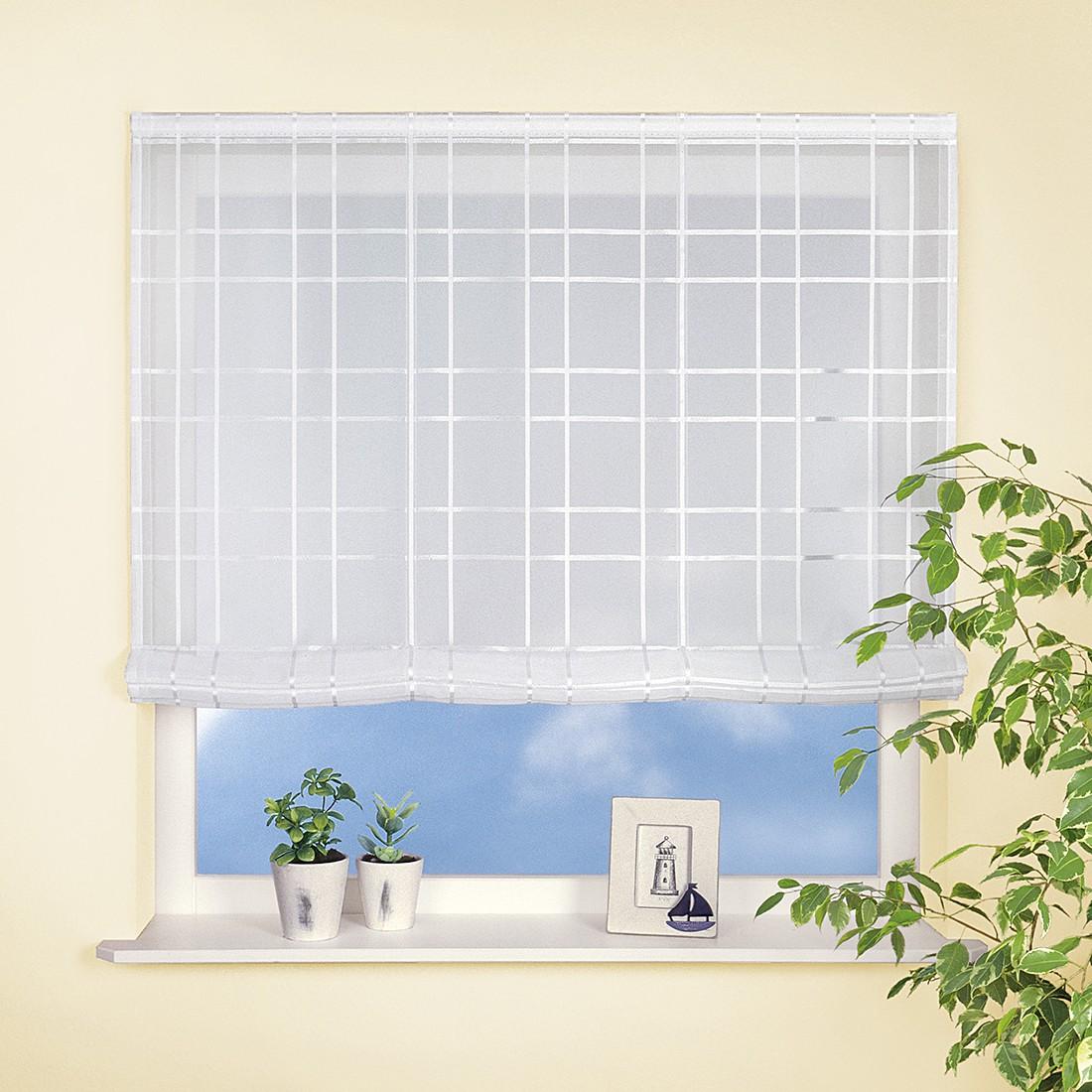 Raffrollo Mirinda – Weiß – 120 x170 cm, Home24Deko jetzt kaufen