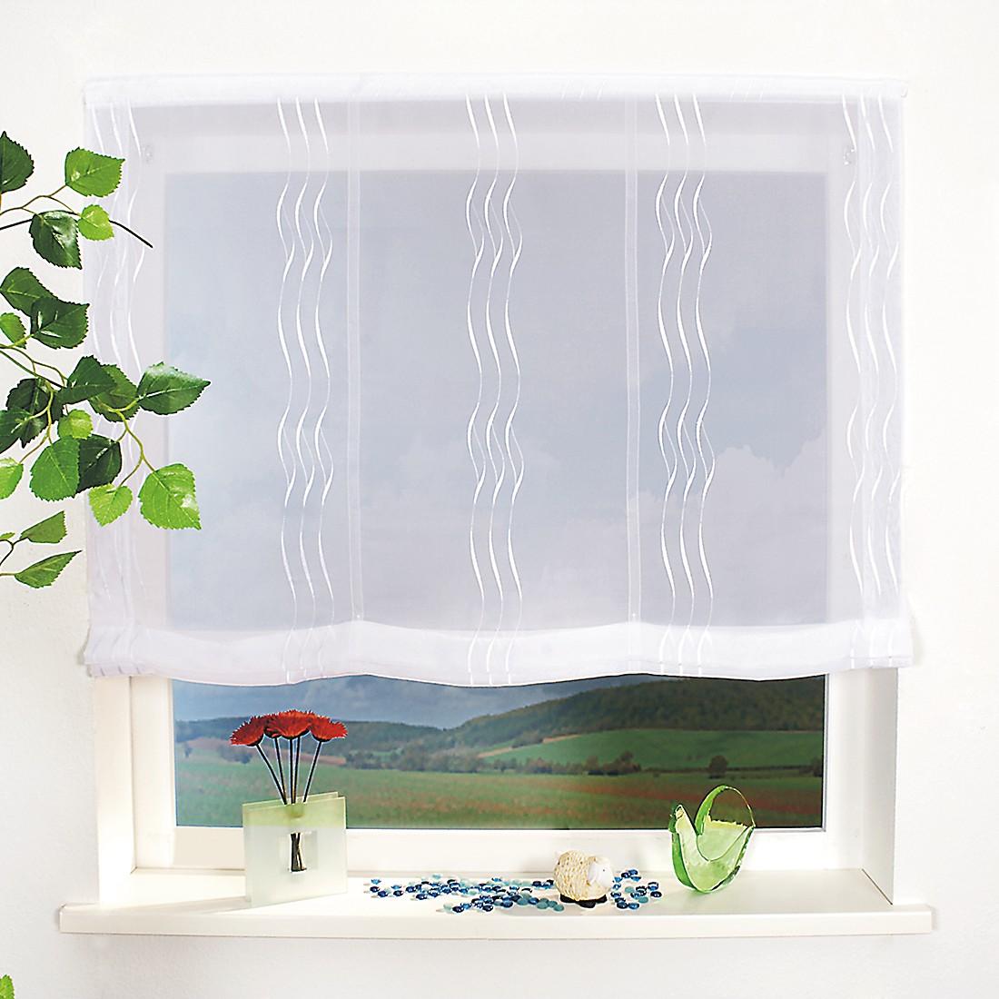 Raffrollo NONA Weiß – 100 x 170 cm, Home24Deko günstig online kaufen