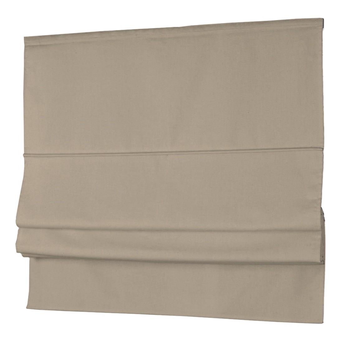 Raffrollo Cotton Panama – Braun – 130 x 170 cm, Dekoria kaufen