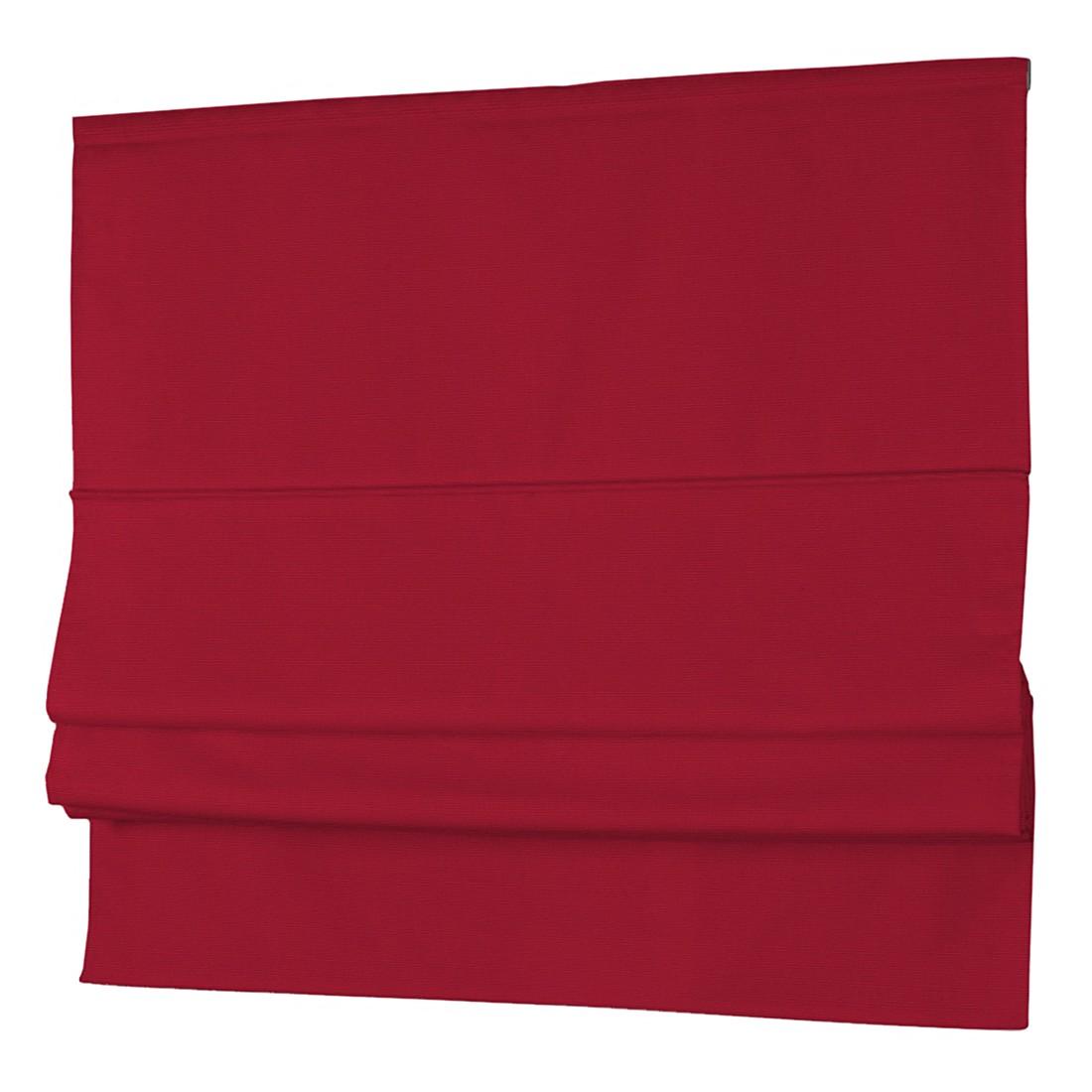 Raffrollo Cotton Panama – Rubinrot – 100 x 170 cm, Dekoria jetzt bestellen