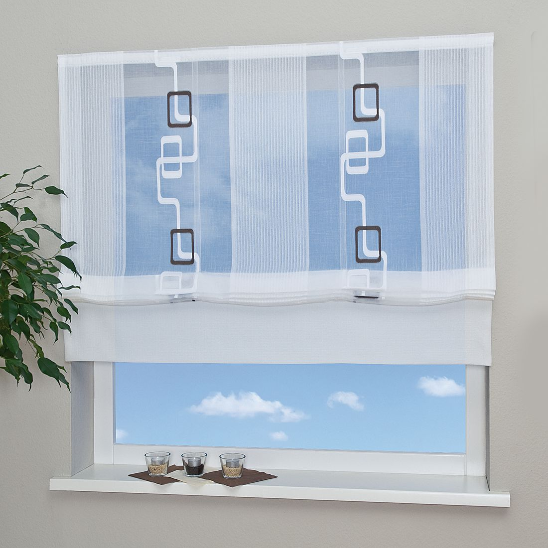 Raffrollo Tanja – 70 x 160 cm, Home24Deko online bestellen