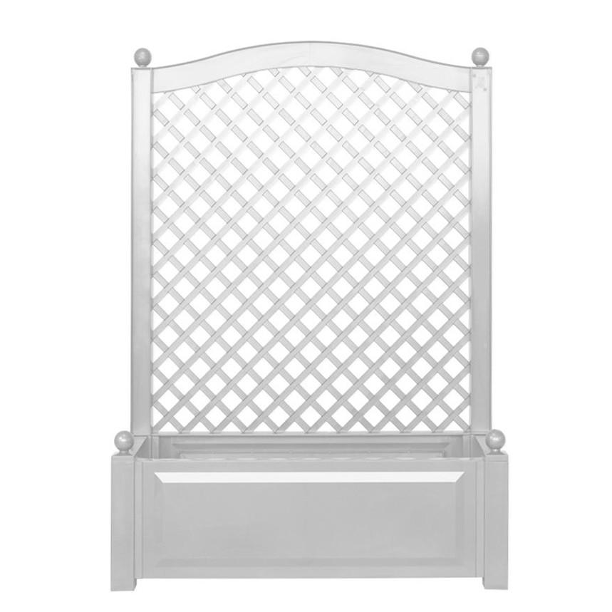 Rankkasten Florana – Kunststoff Weiß – Breit, Khw günstig