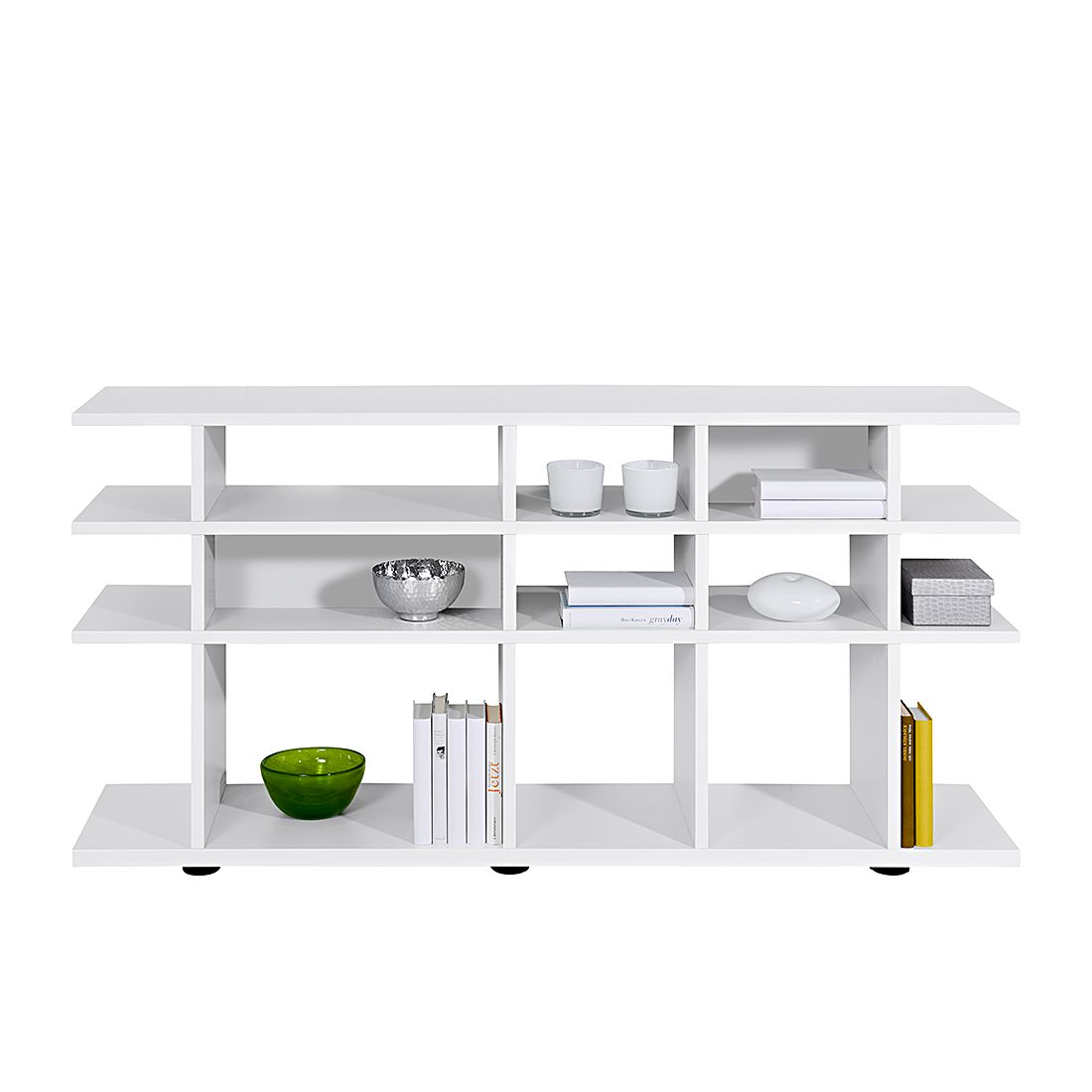 Raumteiler Arte M klein - Weiß
