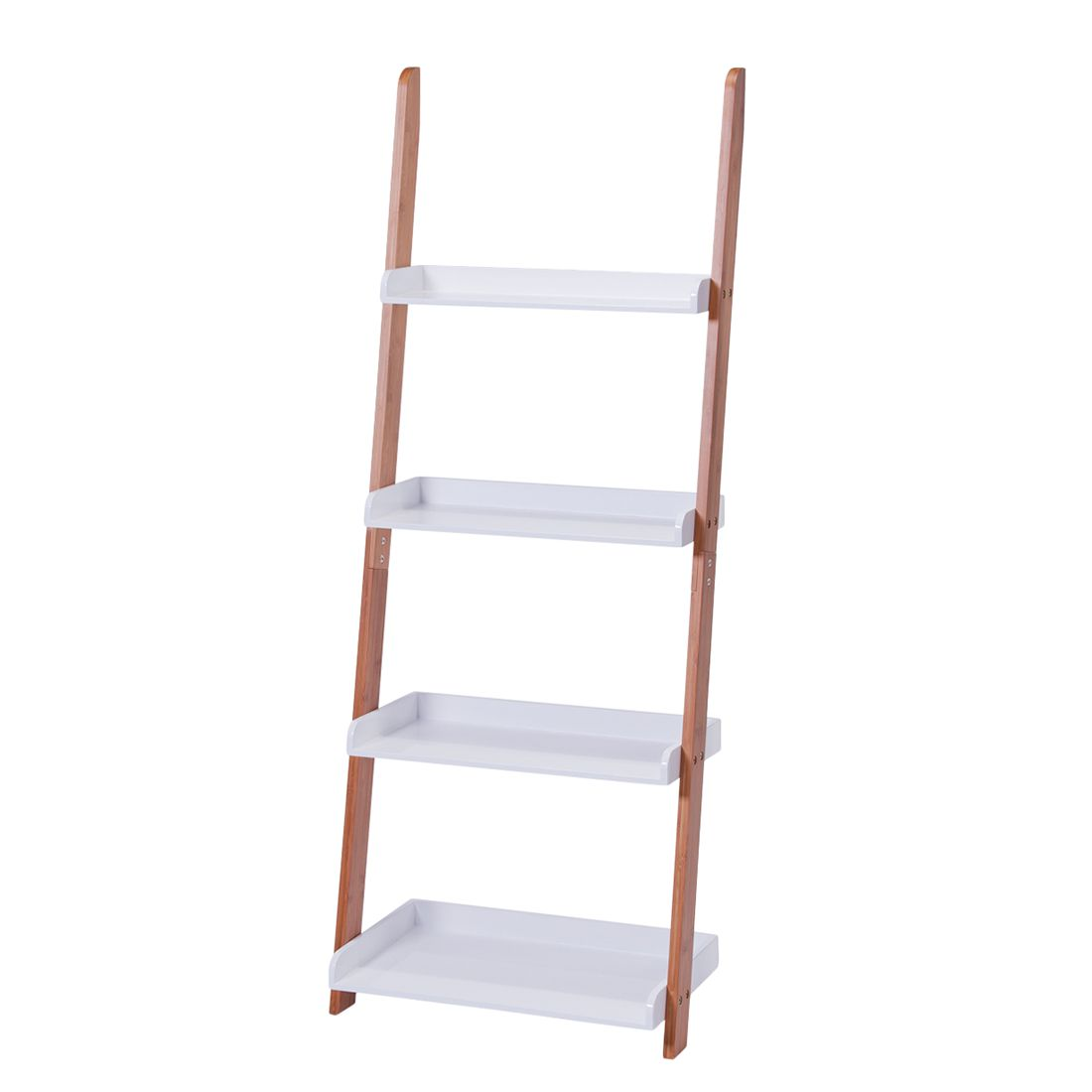 Regal Alvin III – Bambus/Weiß – lackiert, Zeller online kaufen