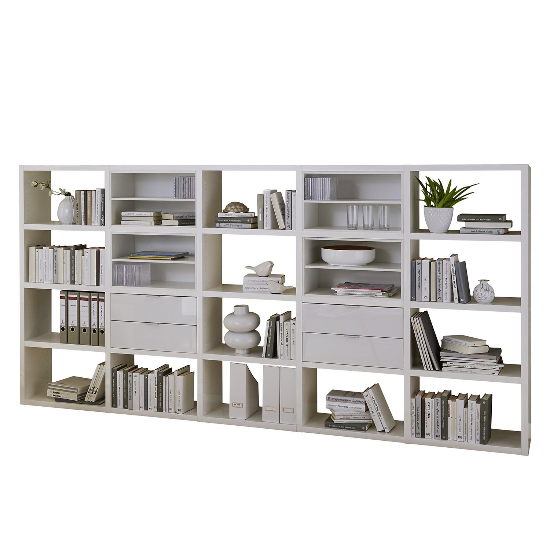 Regal Concept IV - Hochglanz Weiß, loftscape