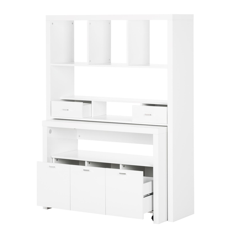 fredriks regal 3tlg hochglanz wei wandregal regal. Black Bedroom Furniture Sets. Home Design Ideas