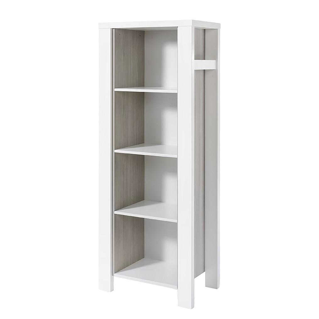 Regal Milano - Pinie Silber Dekor/Weiß, Schardt