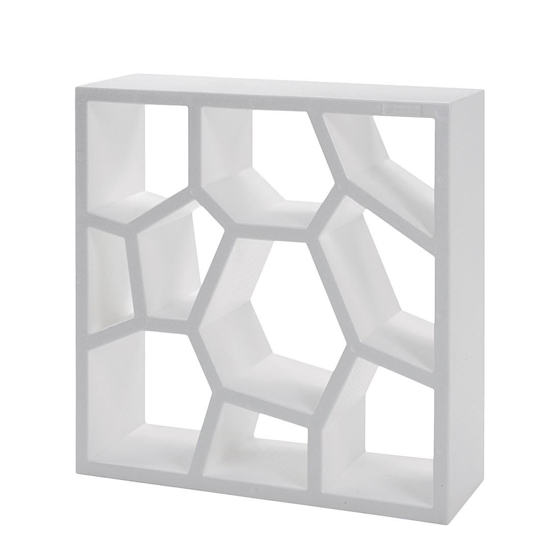 Regal Opus Incertum - Weiß