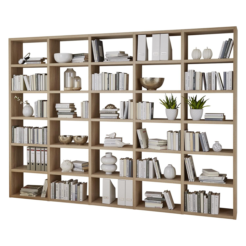 Regal-Set Concept I (5-teilig) - Eiche Dekor, loftscape
