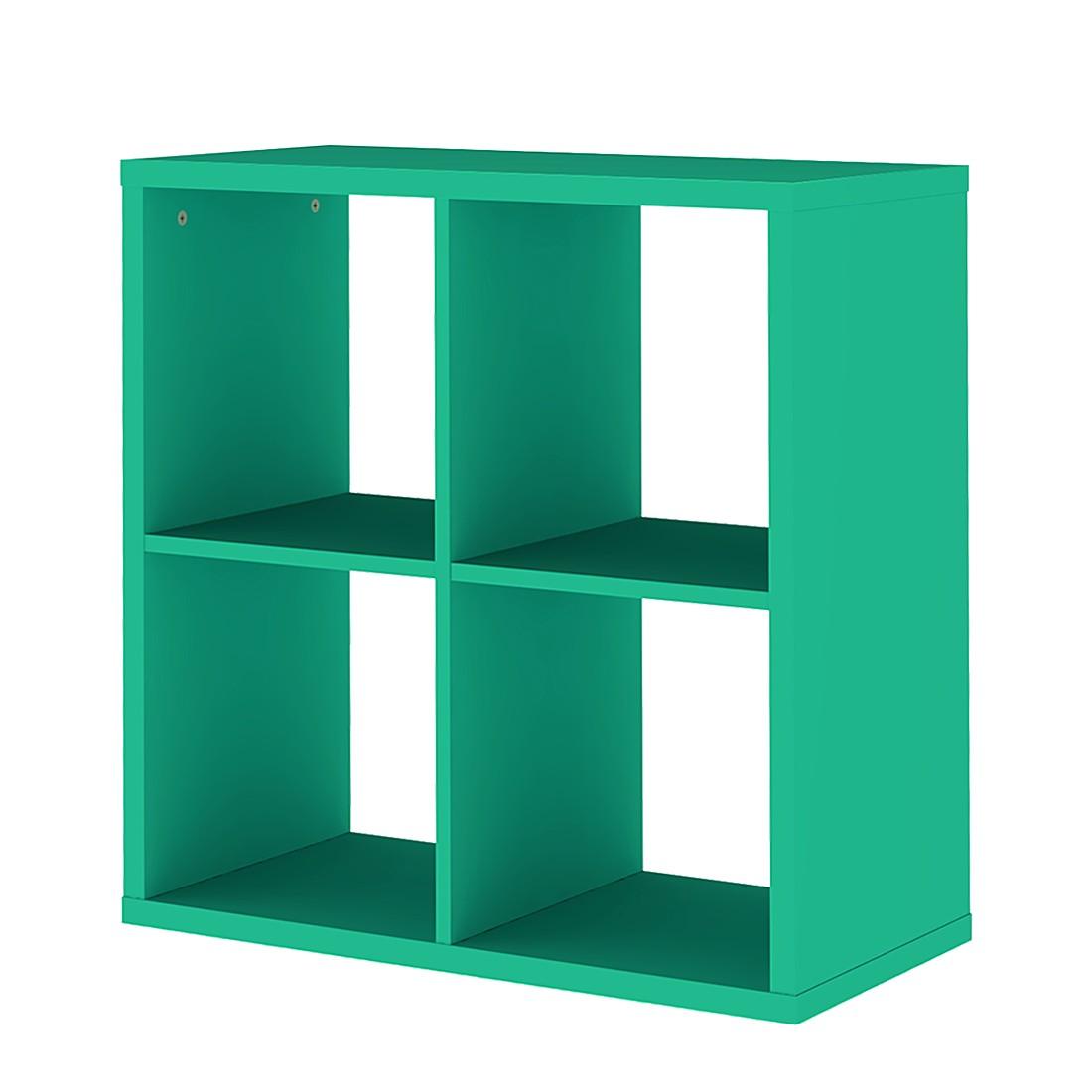 regal viereckig box gr n tenzo online kaufen. Black Bedroom Furniture Sets. Home Design Ideas