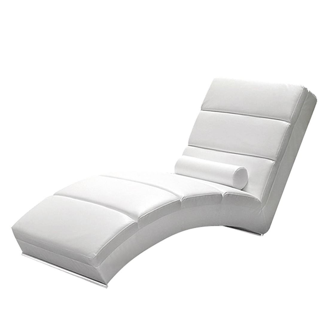 relaxliege kunstleder weiss. Black Bedroom Furniture Sets. Home Design Ideas