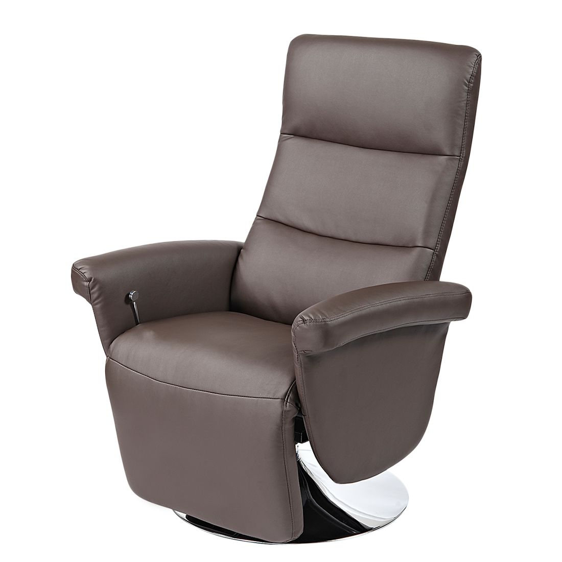 relaxsessel giorno kunstleder braun nuovoform g nstig. Black Bedroom Furniture Sets. Home Design Ideas