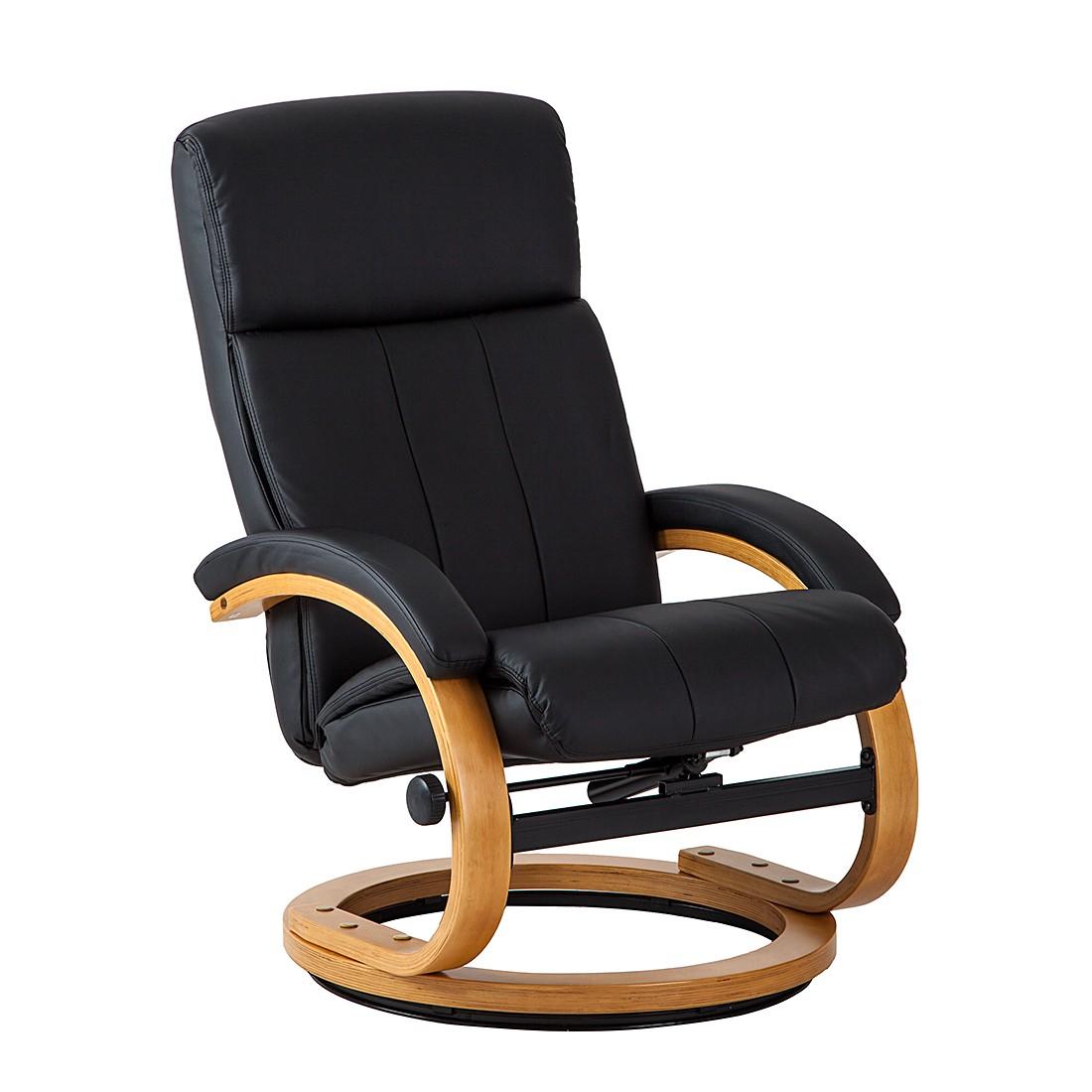 relaxsessel vancouver mit hocker kunstleder schwarz tv. Black Bedroom Furniture Sets. Home Design Ideas