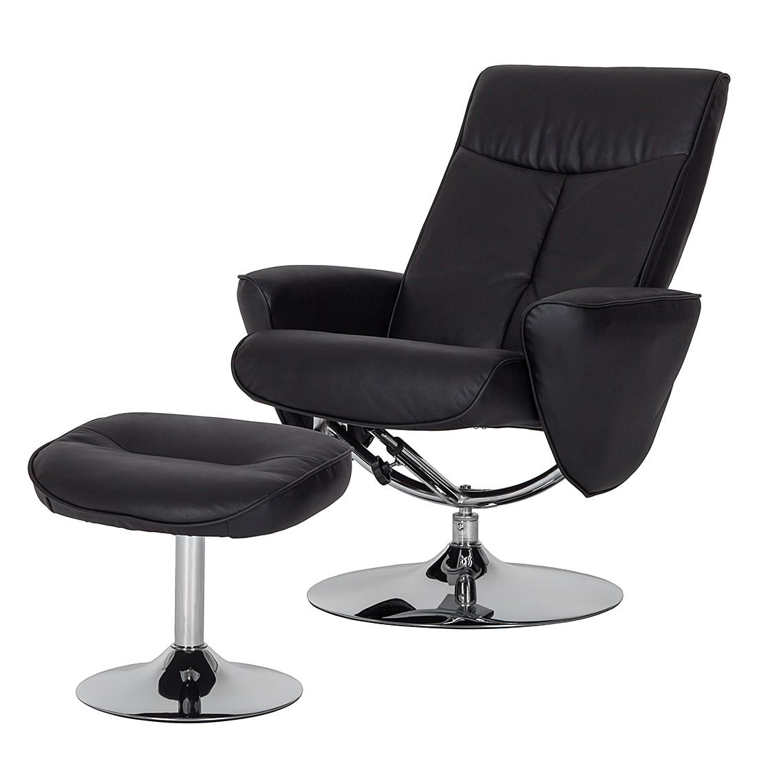 mooved vincenzo echtleder relaxsessel schwarz sessel. Black Bedroom Furniture Sets. Home Design Ideas