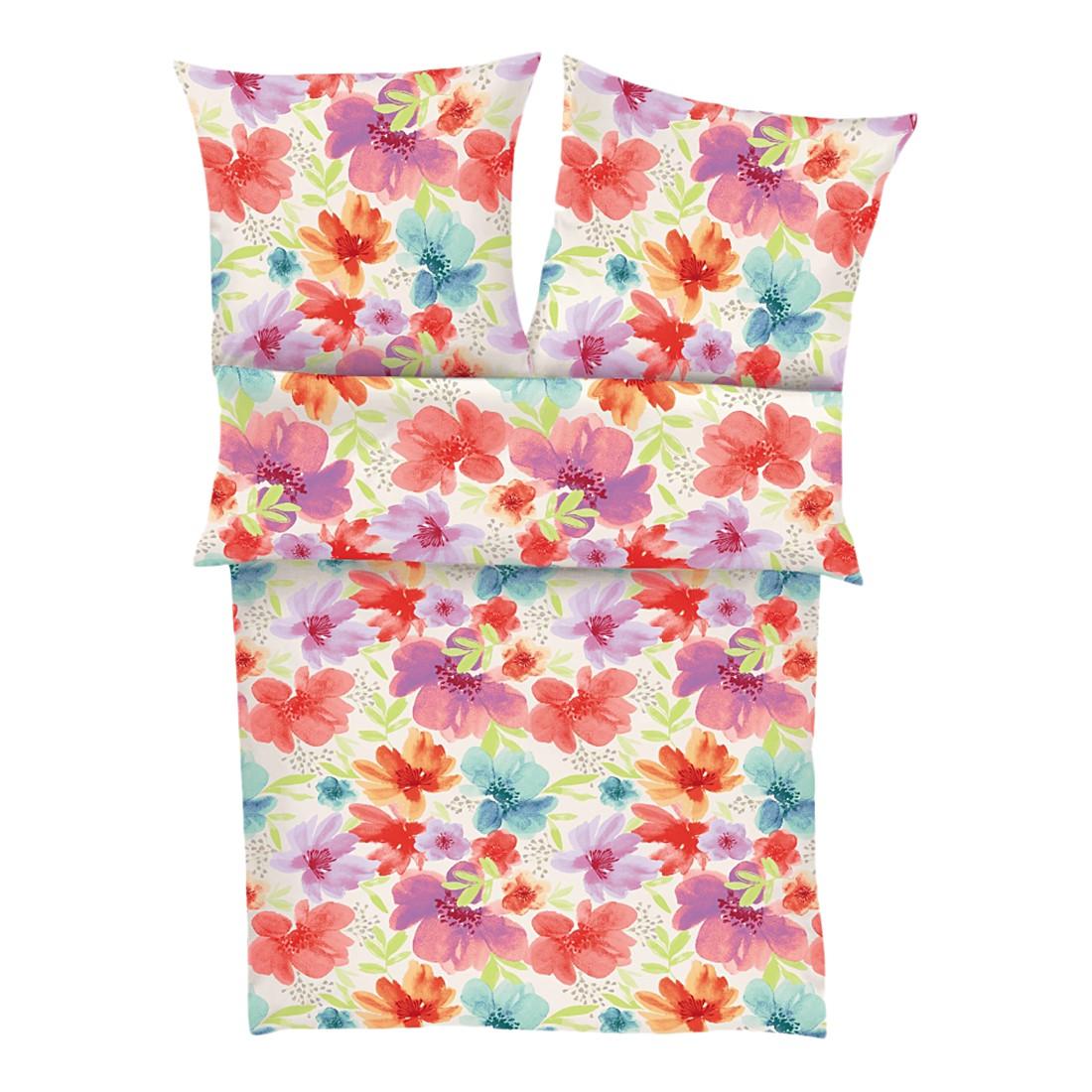 Renforcébettwäsche Fleur – Pastell – Maße: 155 x 220 cm, s.Oliver jetzt kaufen
