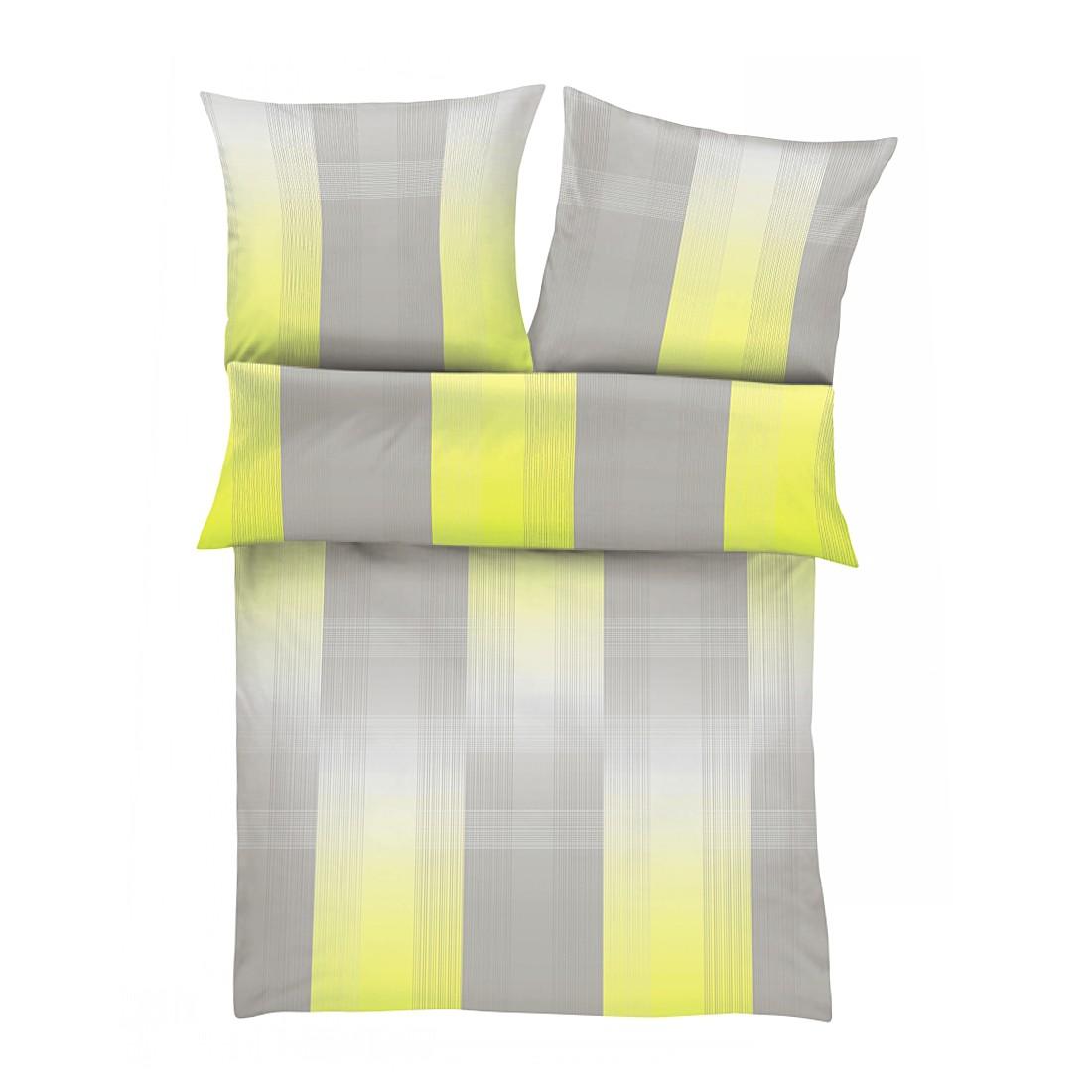 Renforcébettwäsche Neon – Grau – Maße: 135 x 200 cm, s.Oliver online bestellen