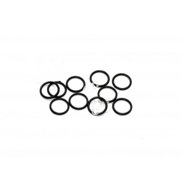 Ringe für Gardinenstangen 16/20 mm inkl. Faltenhaken Schwarz, Home24Deko günstig bestellen