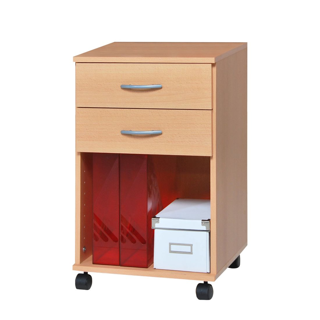 Preisvergleich eu rollcontainer buche for Home24 office
