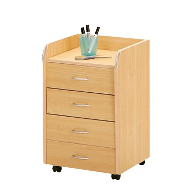 rollcontainer novo 4 schubladen. Black Bedroom Furniture Sets. Home Design Ideas