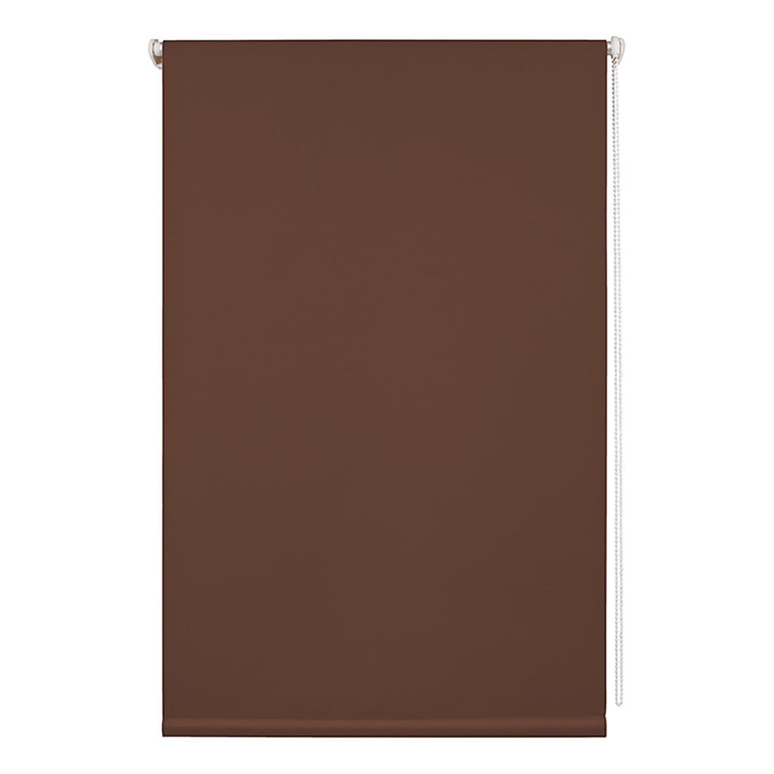 Rollo Klemmfix, Thermo/Verdunkelung – Polyester, Braun – Abmessungen (H x B): 150 x 90 cm, Wohn-Guide bestellen