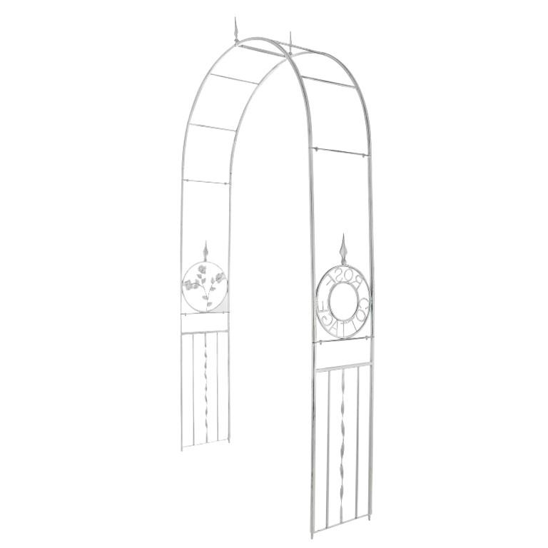 Rosenbogen Cottage – antik-Weiß – pulverbeschichtetes Eisen, CLP günstig