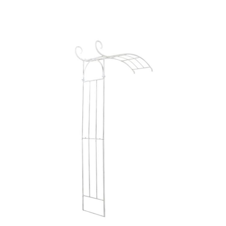 Rosenbogen Jasmin  – antik-weiß – pulverbeschichtetes Eisen, CLP bestellen