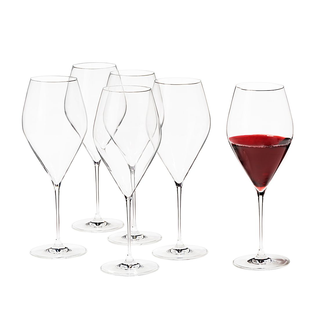 Verre vin rossini lot de 6 transparent - Vin rossini ...