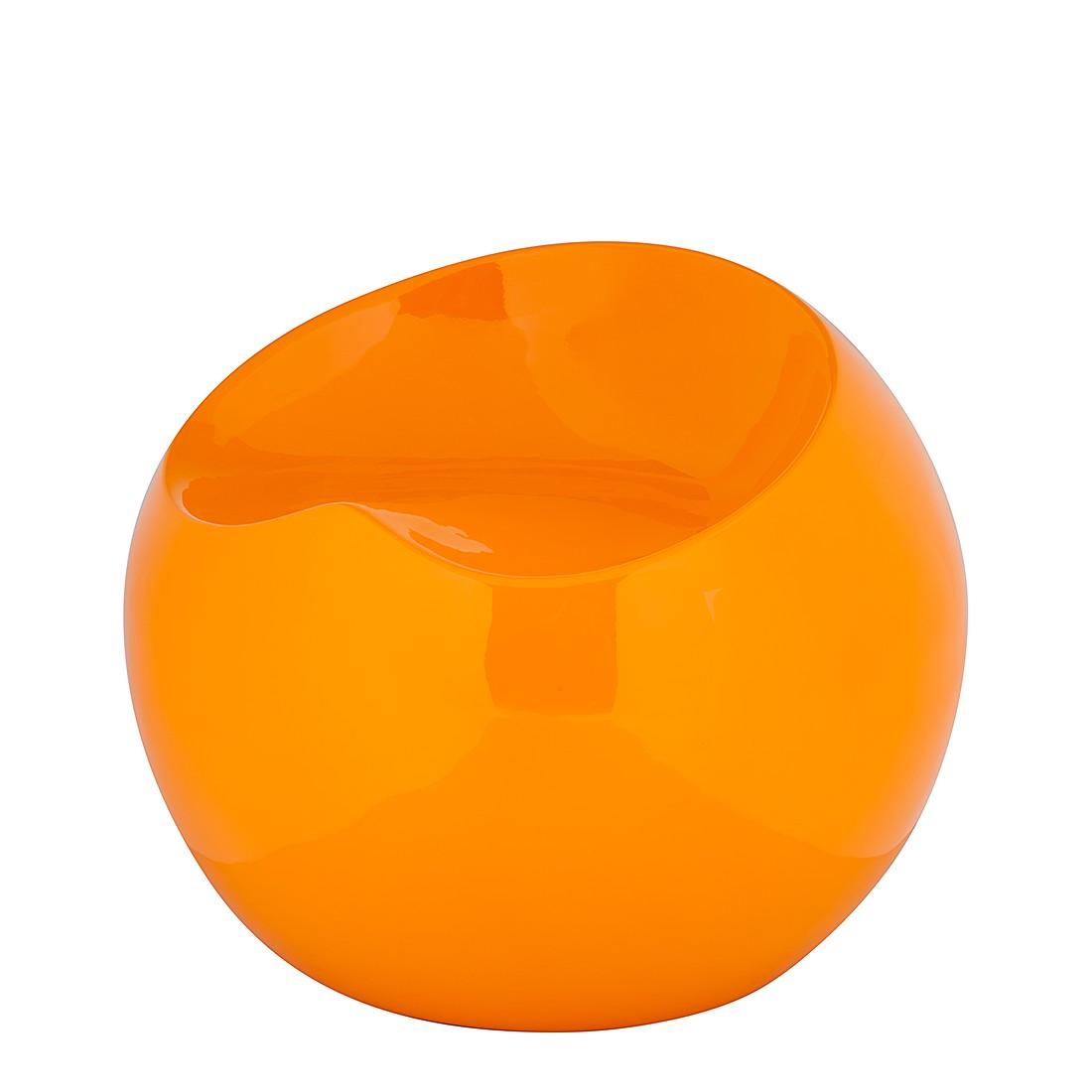 Round Hocker – Hochglanz Orange – Round Hocker – Hochglanz orange, Studio Monroe günstig