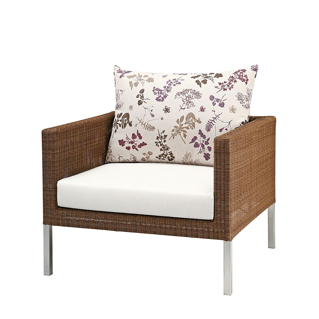 coussin dossier rembourr san remo mikado motif floral. Black Bedroom Furniture Sets. Home Design Ideas