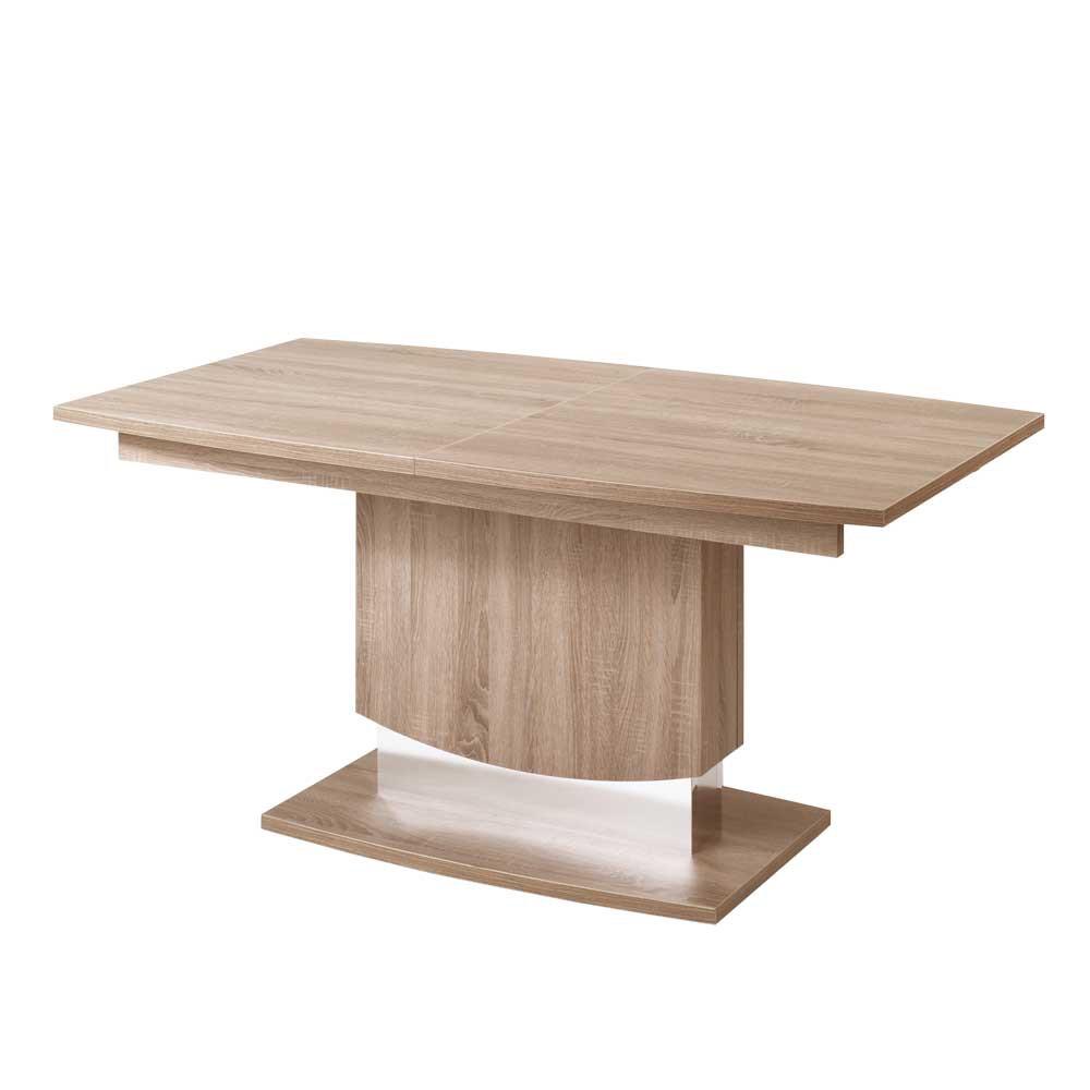 preisvergleich eu esstisch s ule ausziehbar. Black Bedroom Furniture Sets. Home Design Ideas