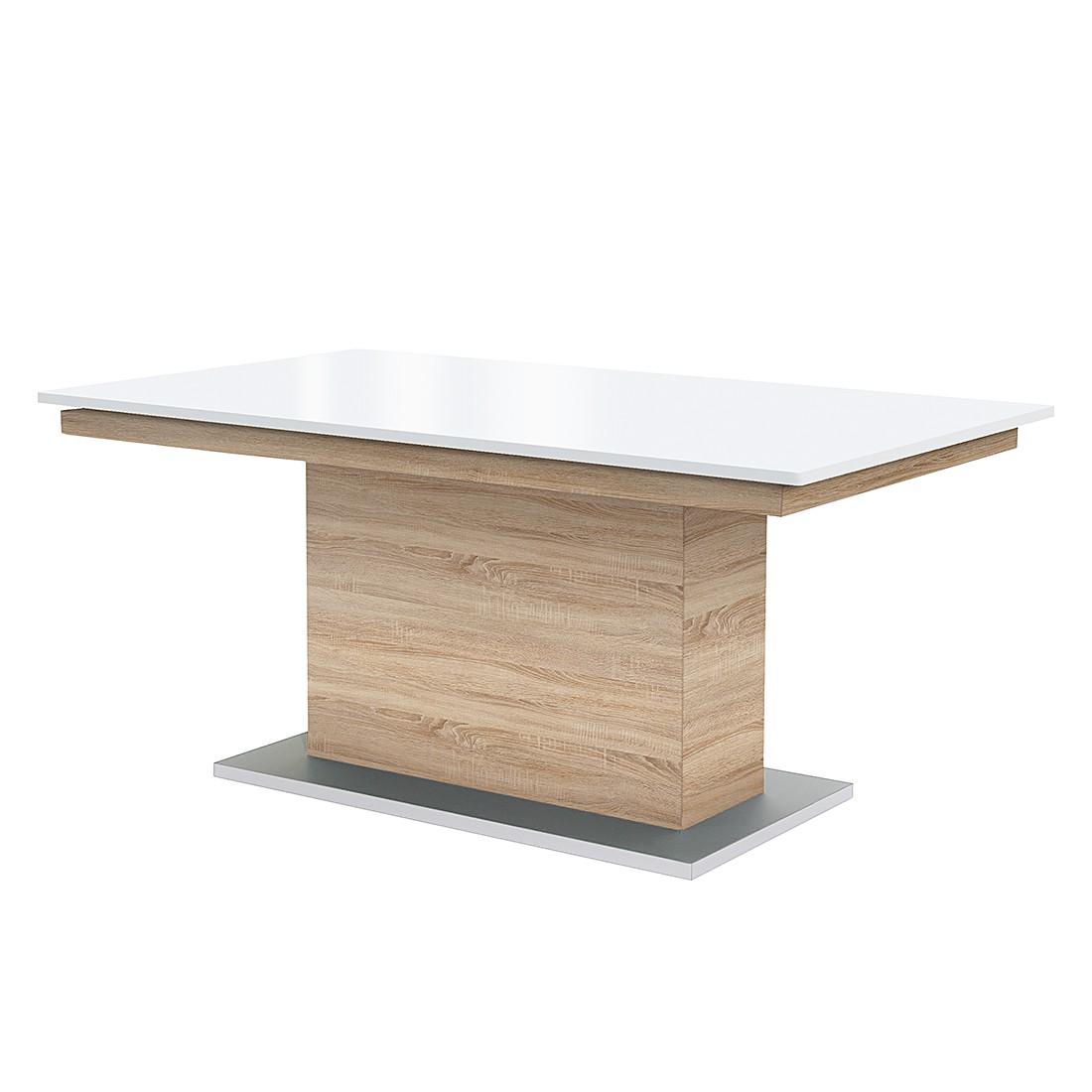 Säulentisch Deck (ausziehbar)   Eiche Dekor/Hochglanz Weiß   160 X 95 Cm, Arte  Mu20ac 679,99Anbieter: Home24.atVersand: Kostenlos