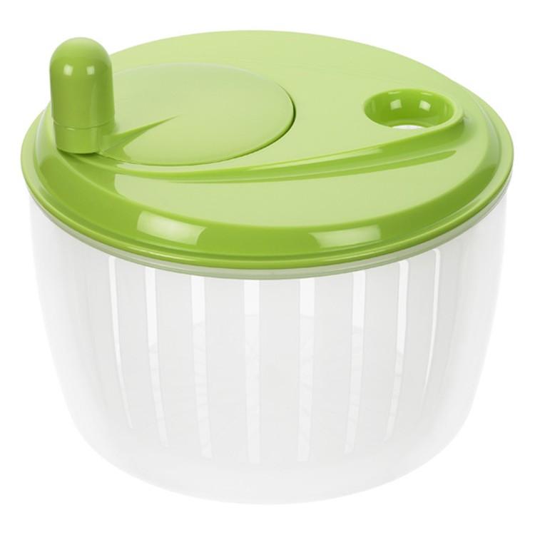 Salatschleuder mit  Kurbel – Kunststoff Grün-Transparent, Lurch online bestellen