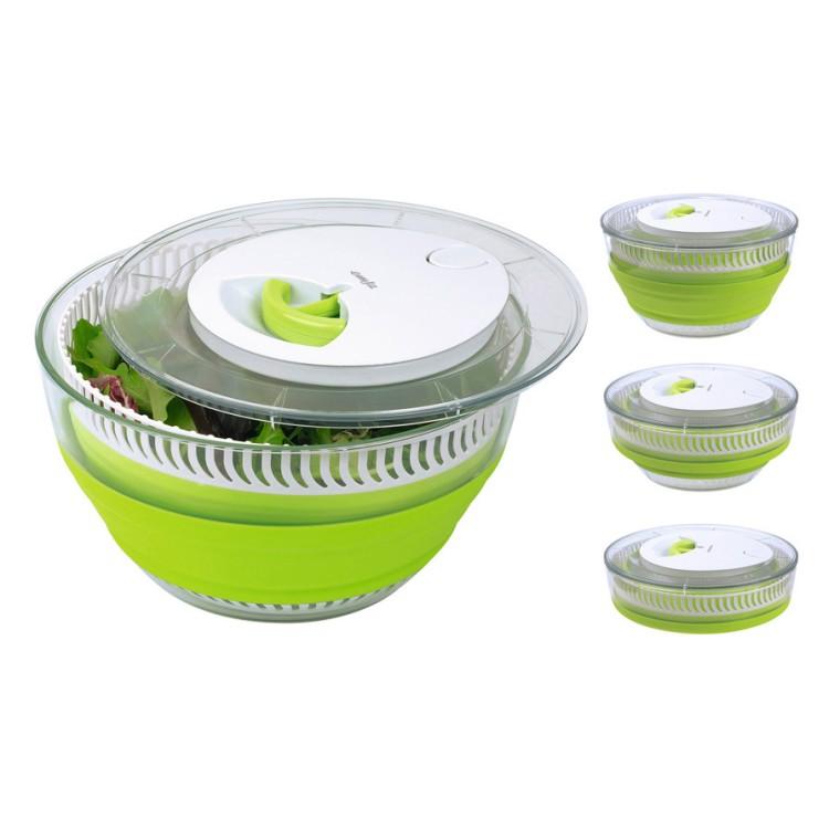 Salatschleuder Smart Kitchen faltbar – Kunststoff Grün, Weiß, Emsa kaufen