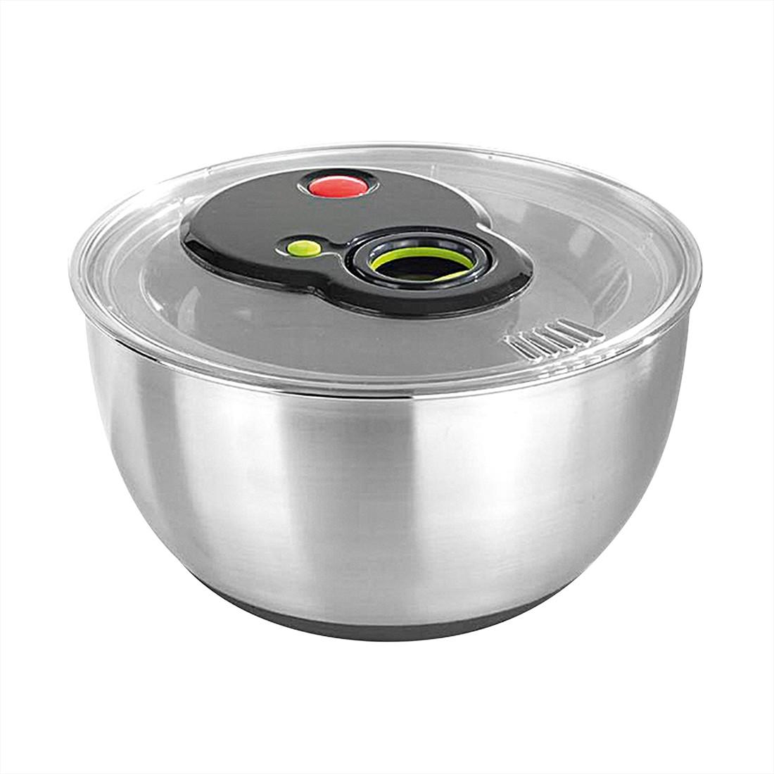 Salatschleuder Turboline – Edelstahl Silber, Emsa bestellen