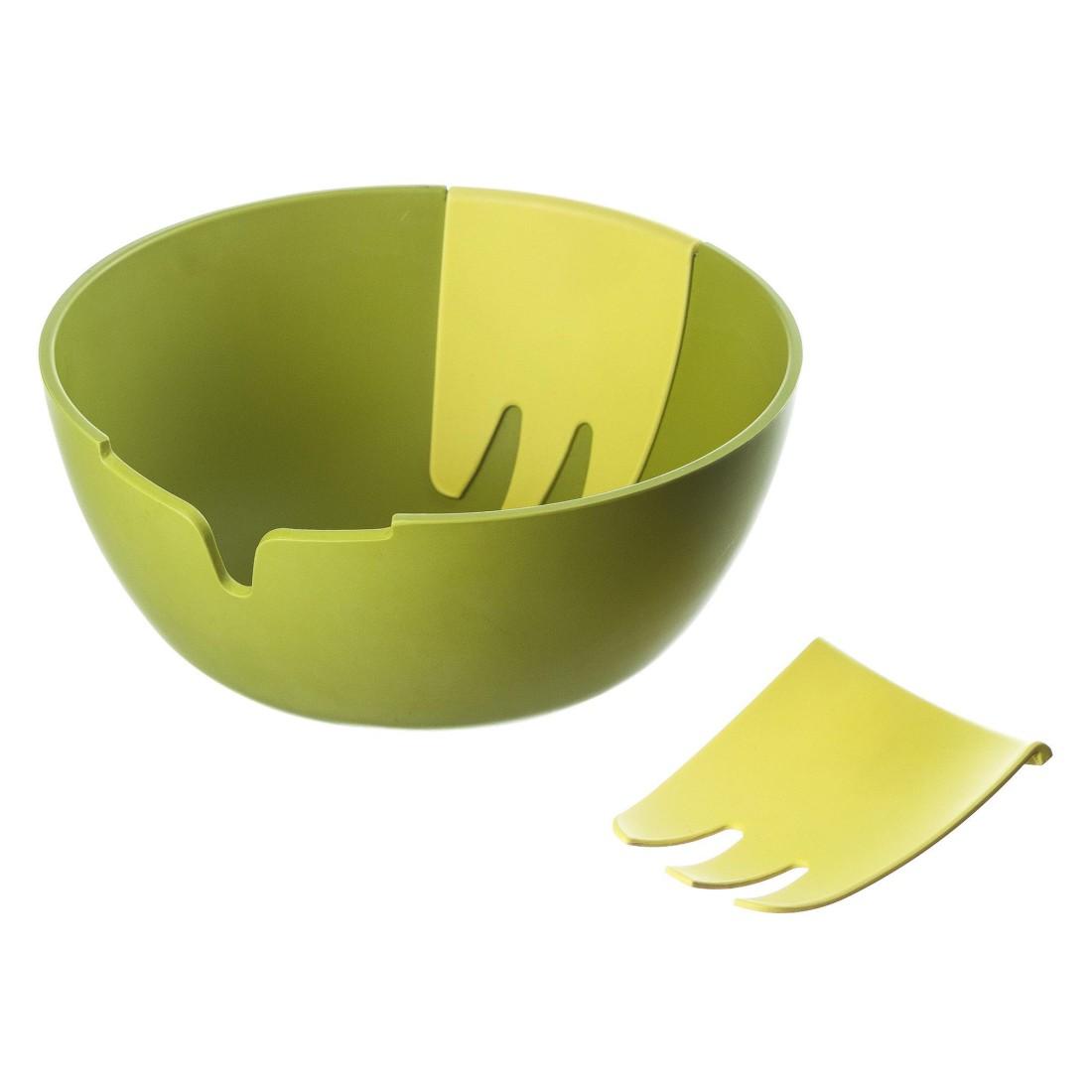 Salatschüssel-Set Hands On – Kunststoff – Grün, JOSEPH JOSEPH kaufen