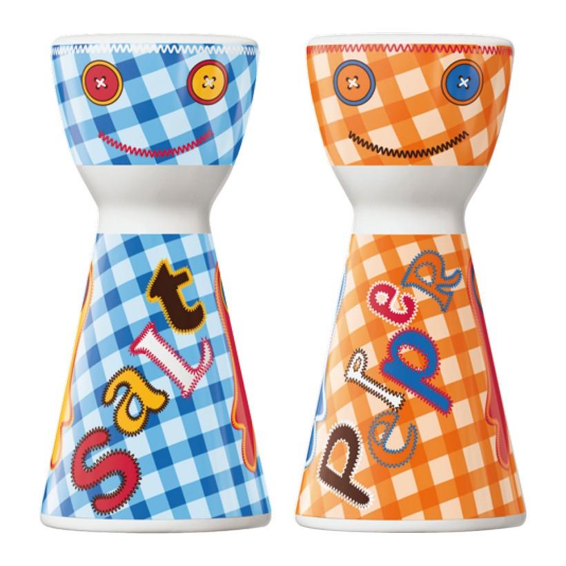 Salz- und Pfefferstreuer Mr. Salt & Mrs. Pepper – Design Corinna Mühlenbein – 2013 – 1710058, Ritzenhoff jetzt kaufen