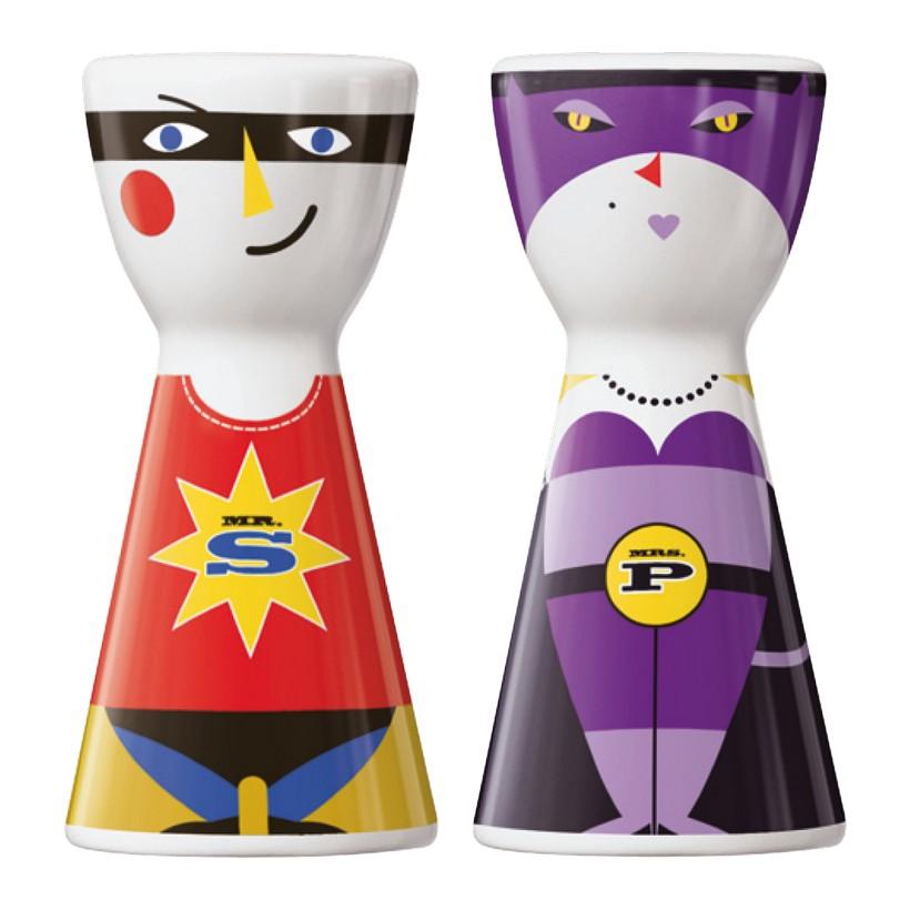 Salz- und Pfefferstreuer Mr. Salt & Mrs. Pepper – Design Julien Chung – 2011 – 1710045, Ritzenhoff günstig online kaufen