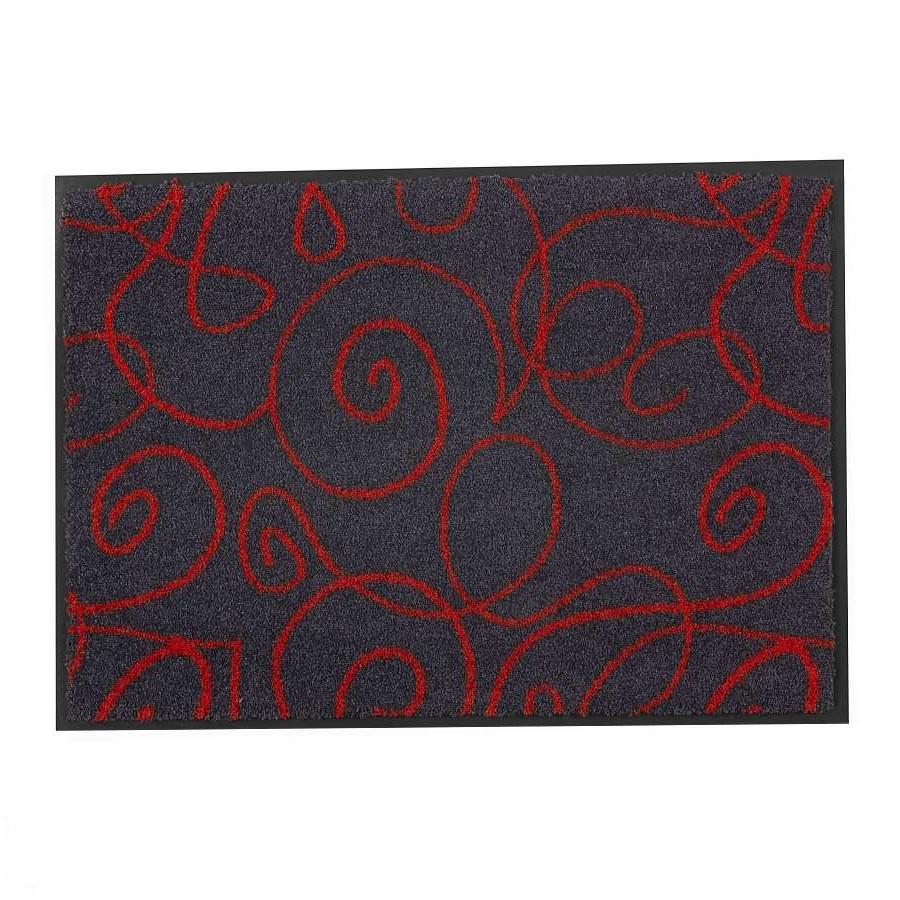 Fußmatte Broadway Schlinge – Rot – 70 x 110 cm, Schöner Wohnen Kollektion günstig online kaufen