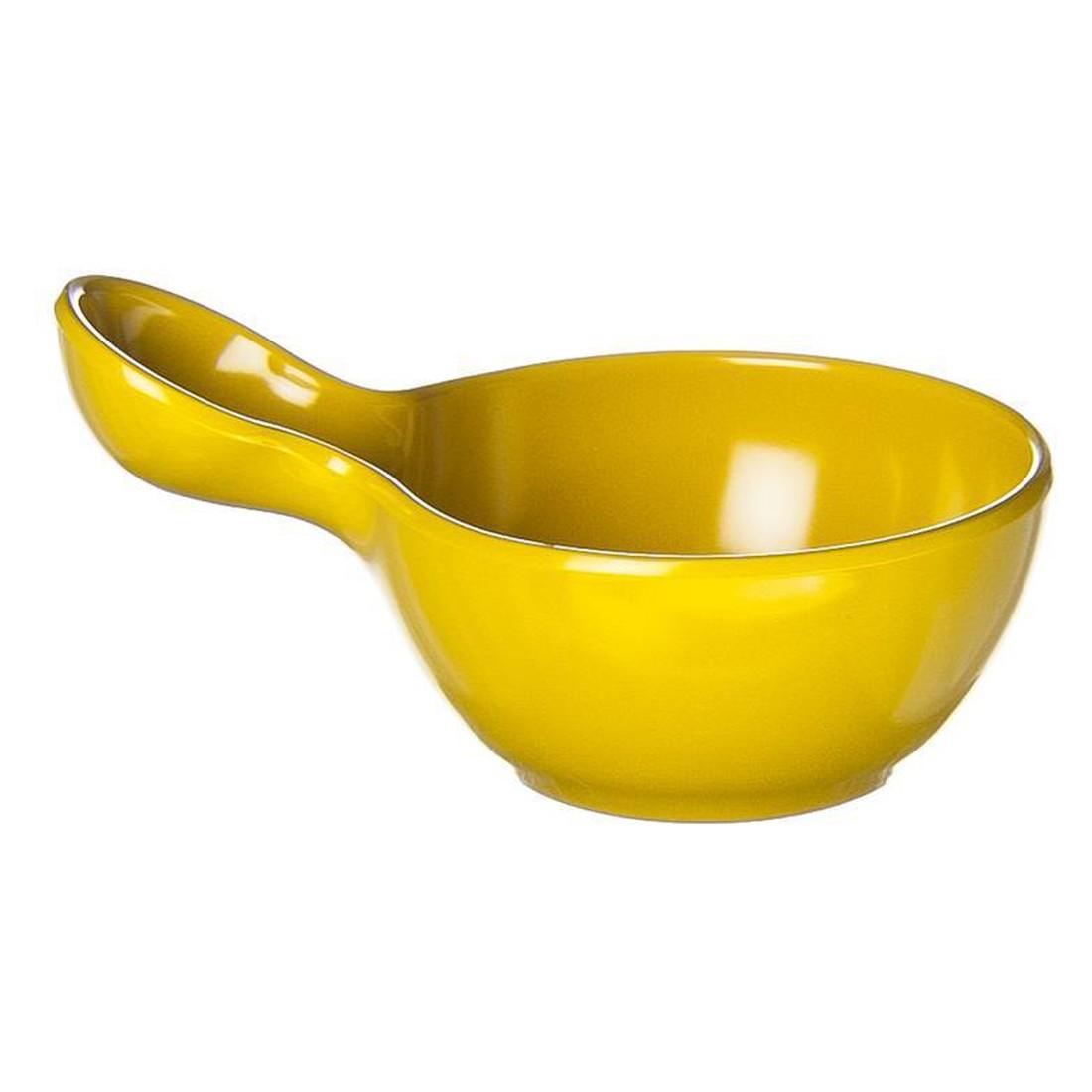 Saucenschüssel Mia – Melamin – Gelb – 7 x 13 x 9 cm, Ole Jensen günstig