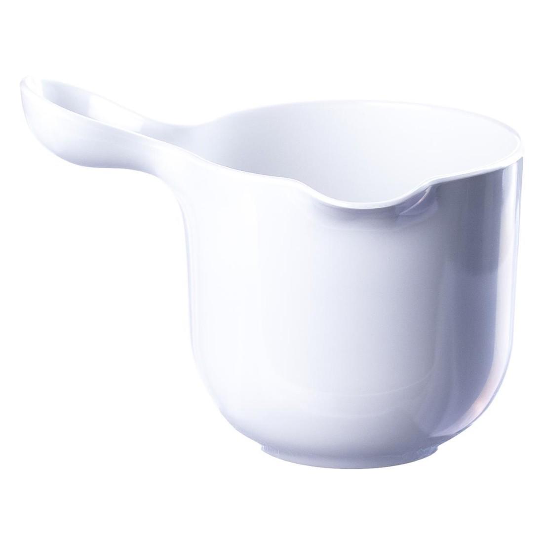 Saucenschüssel Mia – Melamin – Weiß – 17 x 23 x 16 cm, Ole Jensen günstig