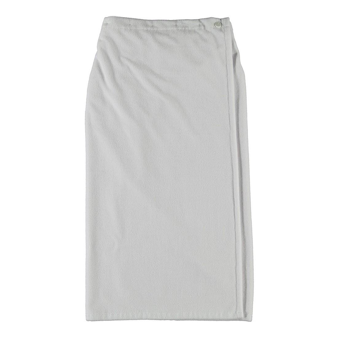 Saunasarong Clara – Damen Multifaser  – 40% Polyester, 30% Baumwolle, 30% Viskose weiß, Morgenstern jetzt bestellen