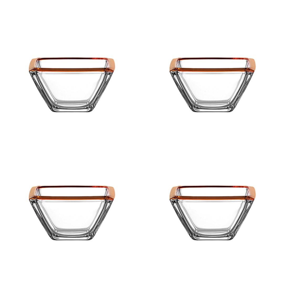 Schale Corner (4er-Set) – 12,5 cm – Orange, Leonardo jetzt bestellen