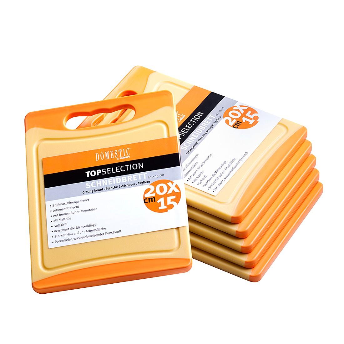 Schneidebrettset Telesto (6er-Set) – Orange, Mäser günstig online kaufen