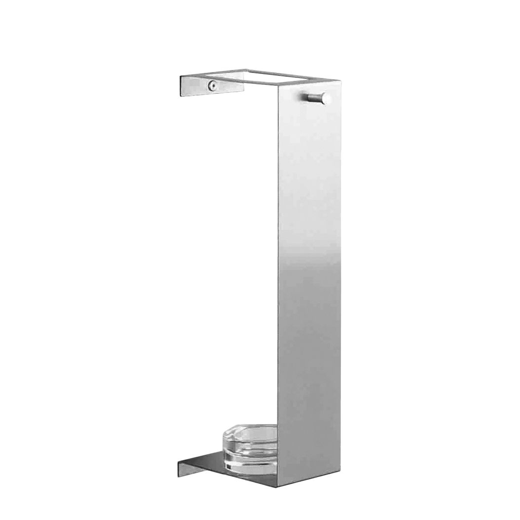 schirmhalter beris edelstahl glas zur wandmontage. Black Bedroom Furniture Sets. Home Design Ideas