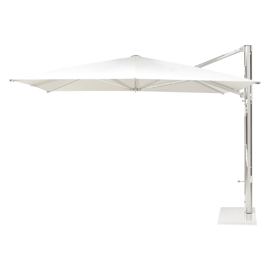 Schirmständer Shade Ampelschirm - Aluminium Weiß - 272x320x300, Emu